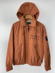 PEARLY GATES/パーリーゲイツ/ジャケット/S/ポリエステル/オレンジ