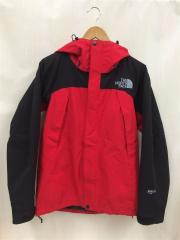 Mountain Jacket/マウンテンパーカ/S/ナイロン/RED/中古/NP15105