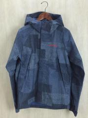 マウンテンパーカ/M/ナイロン/BLU/WABASH PATTERNED JACKET ワバシュパターンドジャケット PM5989/