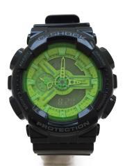 腕時計/デジアナ/ラバー/GRN