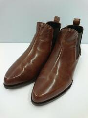 Sidegore Boots/サイドゴアブーツ/36/ブラウン/レザー/D8513