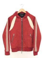 レザージャケット・ブルゾン/S/コットン/RED/BLO-09294
