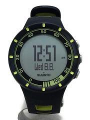 クォーツ腕時計/デジタル/BLK/SUUNTO/スント/Quest Yellow/クエスト/