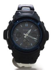 カシオ/AWG-M100A-1AJF/ソーラー腕時計・G-SHOCK/デジアナ/BLK