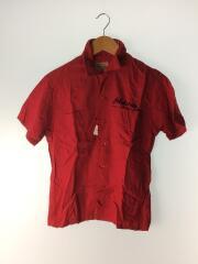 半袖シャツ/XS/レーヨン/RED/SE35720/ボーリングシャツ