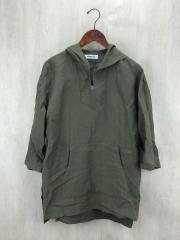 パーカー/S/リネン/KHK/7分丈