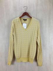 セーター(薄手)/M/コットン/YLW