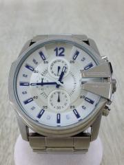 クォーツ腕時計/アナログ/WHT/DZ-4181