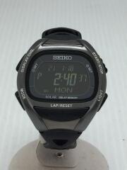 ソーラー腕時計/デジタル/ブラック/プロスペックスーパーランナーズ/S680-00A0