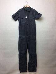 ツナギ/オールインワン/裾ダメージ有/3/DW3-TN-003/半袖ツナギ