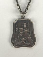 ネックレス/--/SLV/SAINT CHRISTOPHER MEDAL