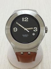 腕時計/アナログ/3針/ガラスキズ