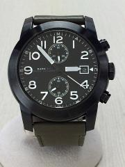クォーツ腕時計/アナログ/--/BLK/KHK