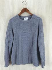 セーター(厚手)/--/ウール/GRY