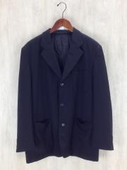 テーラードジャケット/S/ウール/BLK/中綿