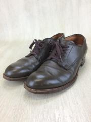 ドレスシューズ/UK8.5/BRW/レザー/PLAINTOE OX/アメカジ/革靴/アメセレ/プレーントゥ
