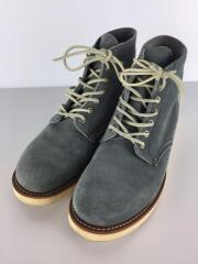 ブーツ/27.5cm/GRY/スウェード/8144/グレー/灰