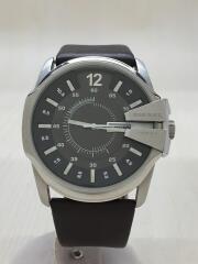 クォーツ腕時計/アナログ/ブラウン