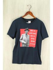 16SS/Burroughs/Tシャツ/S/コットン/NVY