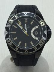 アキュトロン/キュラソー/箱有/Accutron Curacao/自動巻腕時計/アナログ/BLK