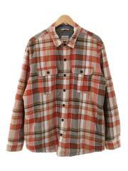 プリマロフトシャツジャケット/298234/長袖/L/コットン/チェック