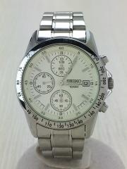 クォーツ腕時計/アナログ/ステンレス/SLV/GRY