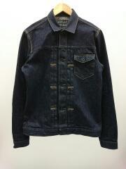 Gジャン/3/コットン/Crow Denim Jacket Non Wash