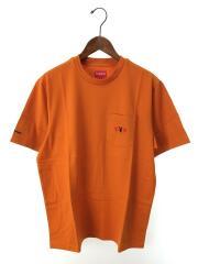 Tシャツ/M/コットン/オレンジ/PLAYBOY POCKET TEE/18AW
