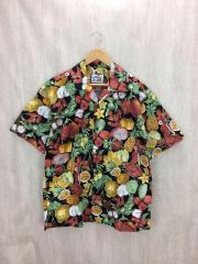 アロハシャツ/XL/コットン/マルチカラー/総柄