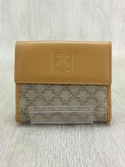 3つ折り財布/キャンバス/CML