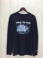 長袖Tシャツ/M/コットン/BLK