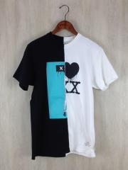 Tシャツ/L/コットン/WHT/GOD SELECTION XXX/トリプルエックス