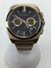 クォーツ腕時計/アナログ/ポールスミス/FINAL EYES/クロノグラフ/GN-4-S/腕時計