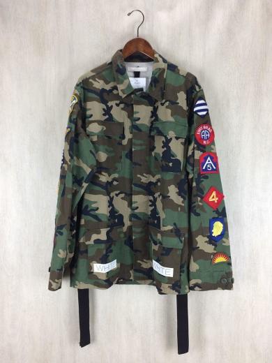 【送料無料】迷彩 ミリタリージャケット フィールドジャケット S〜XL [メンズ レディース BDU