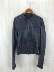 A.F/A.Fhomme/エーエフ/エーエフオム/レザージャケット・ブルゾン/46/羊革/BLK