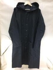 フィールドロングシャツ-C/Rギャバドライクロス/長袖シャツ/2/コットン/リネン混/ブラック