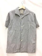 半袖シャツ/--/コットン/IDG/ストライプ