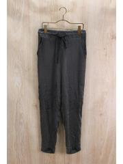 SAADIAN TROUSERS WS/ボトム/XS/シルク/GRY