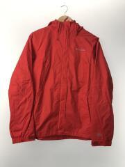 ナイロンジャケット/L/ナイロン/RED