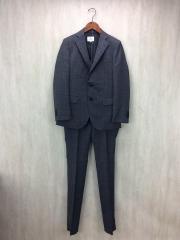 スーツ/46/ポリエステル/GRY/チェック