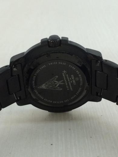 83d707008d LUMINOX(ルミノックス) / NIGHTHAWK/6400 SERIES/F-117/クォーツ腕時計/アナログ/ステンレス/BLK/SLV |  セカンドストリート|衣類・家具・家電等の買取と販売なら ...