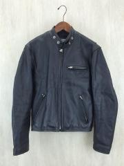 TRiCKY/シングルライダースジャケット/サイズS/レザー/牛革/ブラック/黒/トリッキー