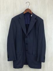 テーラードジャケット/48/ウール/NVY