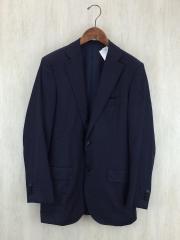 テーラードジャケット/48/ウール/NVY/ストライプ