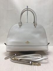 ハンドバッグ/レザー/ホワイト/白色/F57524/アウトレット/鞄/カバン/小物/