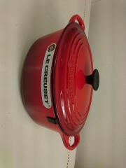 鍋/サイズ:23cm/RED/ココットオーバル/容量2.6L
