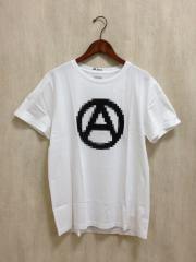 WHITE RAVEN/PEACE tee/Tシャツ/50/コットン/WHT