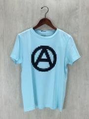 WHITE RAVEN/PEACE tee/Tシャツ/44/コットン/BLU