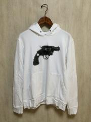 WHITE RAVEN/GUN HOODIE/パーカー/50/--/WHT