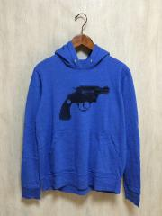 WHITE RAVEN/GUN HOODIE/パーカー/48/--/BLU